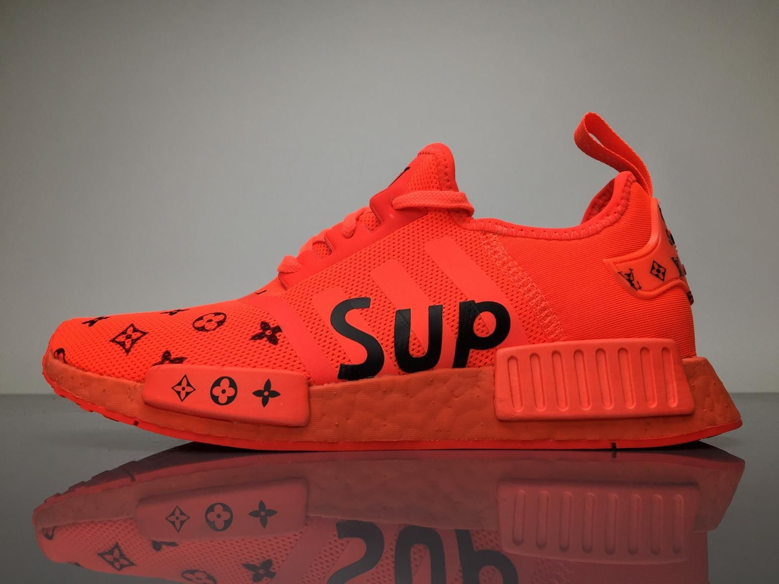 Louis Vuitton x Supreme adidas NMD Boost | | Customkicks by