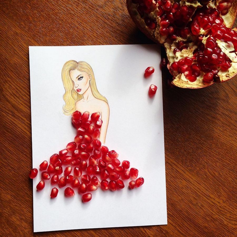Creative Paper Cut-Out Dresses with Everyday Objects by Edgar Artisan, http://itcolossal.com/edgar-artis-cut-out-dresses/