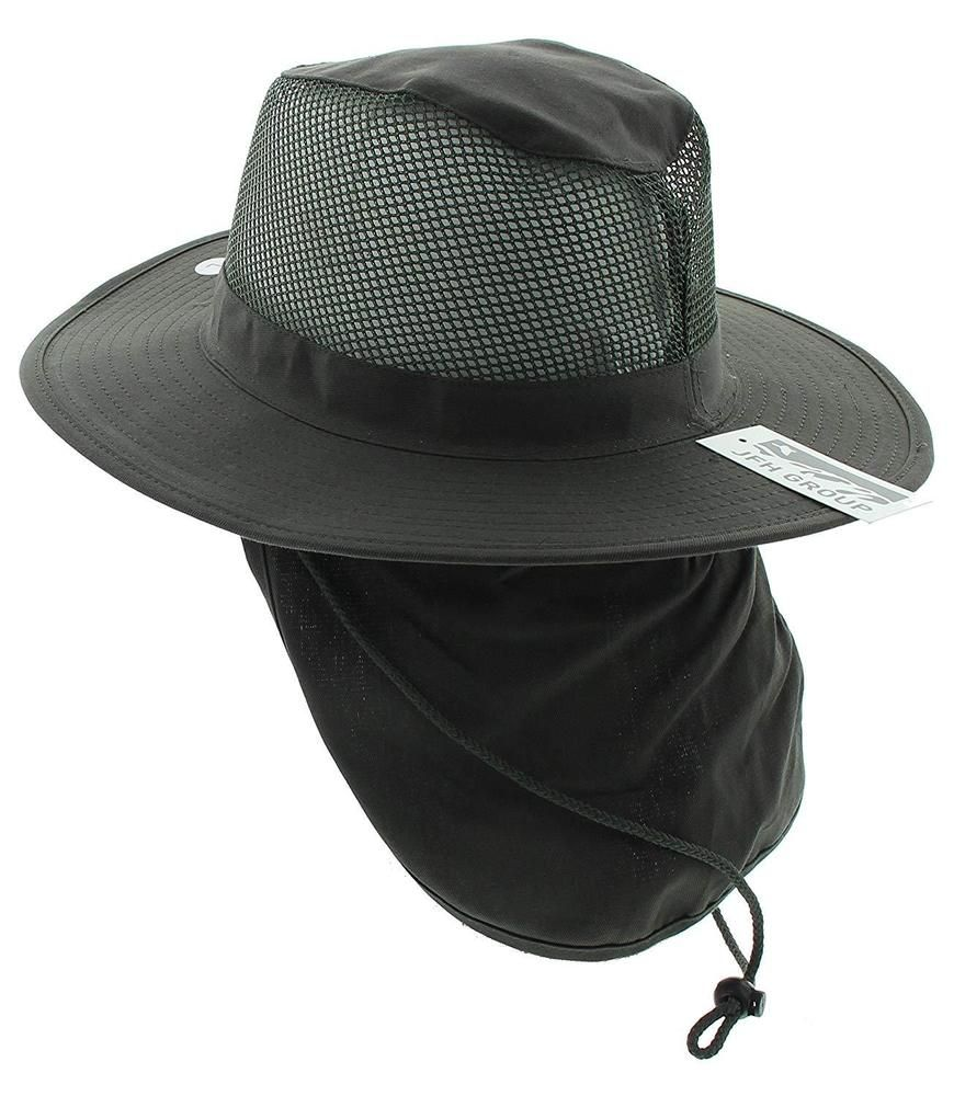 JFH Wide Brim Bora Booney Outdoor Safari Summer Hat w Neck Flap Sun  Protection  fashion  clothing  shoes  accessories  mensaccessories  hats ( ebay link) 101d066e48a