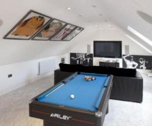 Our Favourite Loft Conversion Design Ideas Loft Conversion Games Room Home Cinema Room Attic Game Room