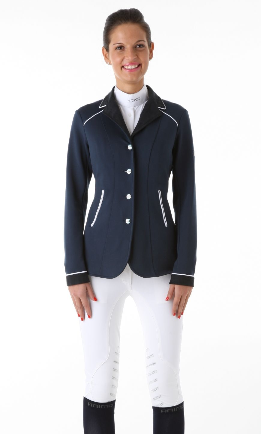 Pin By Just Riding On Animo Italia Show Jackets For Women