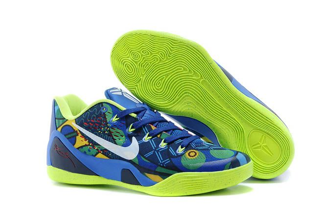 Brazil World Cup - Womens Kobe Bryant IX Low White Venom Green Game Royal  EM Sports Footwear c0be7269e9