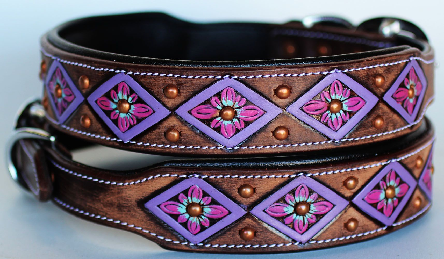 Pets (With images) Western dog collars, Western leather