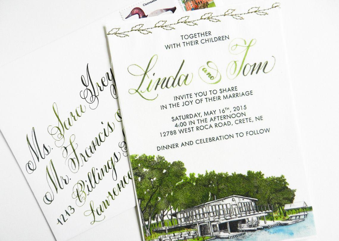 DIY Fabric Wedding Invitations Tutorial | Tutorials, Fabrics and ...