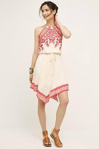 Amaranthine Halter Dress