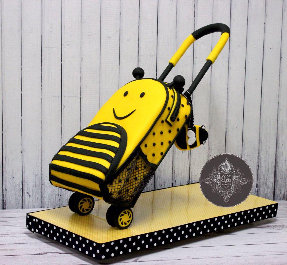 Trolley Bag Cake Master Class #Mayen #Cake