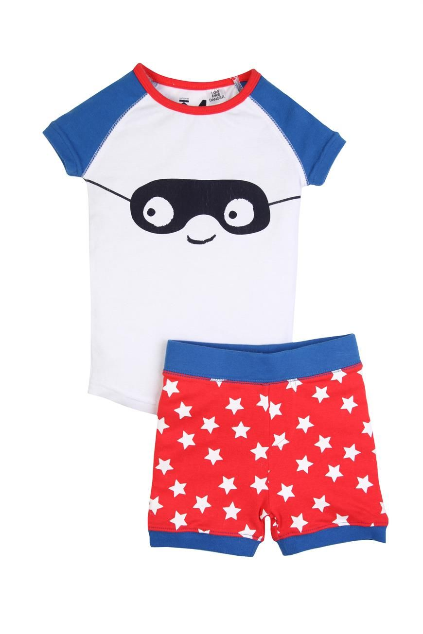 boys s/s supermask pj | Cotton On