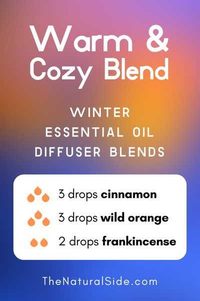 Warm  Cozy Blend  Winter Essential Oil Diffuser Blends  Essential Oils via