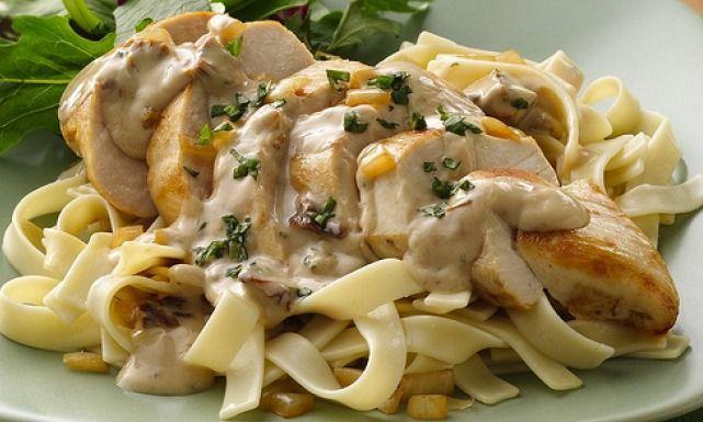 طريقة عمل معكرونة فيتوتشيني بالدجاج Recipe Chicken Alfredo Recipes Cooking Recipes Pasta Dishes