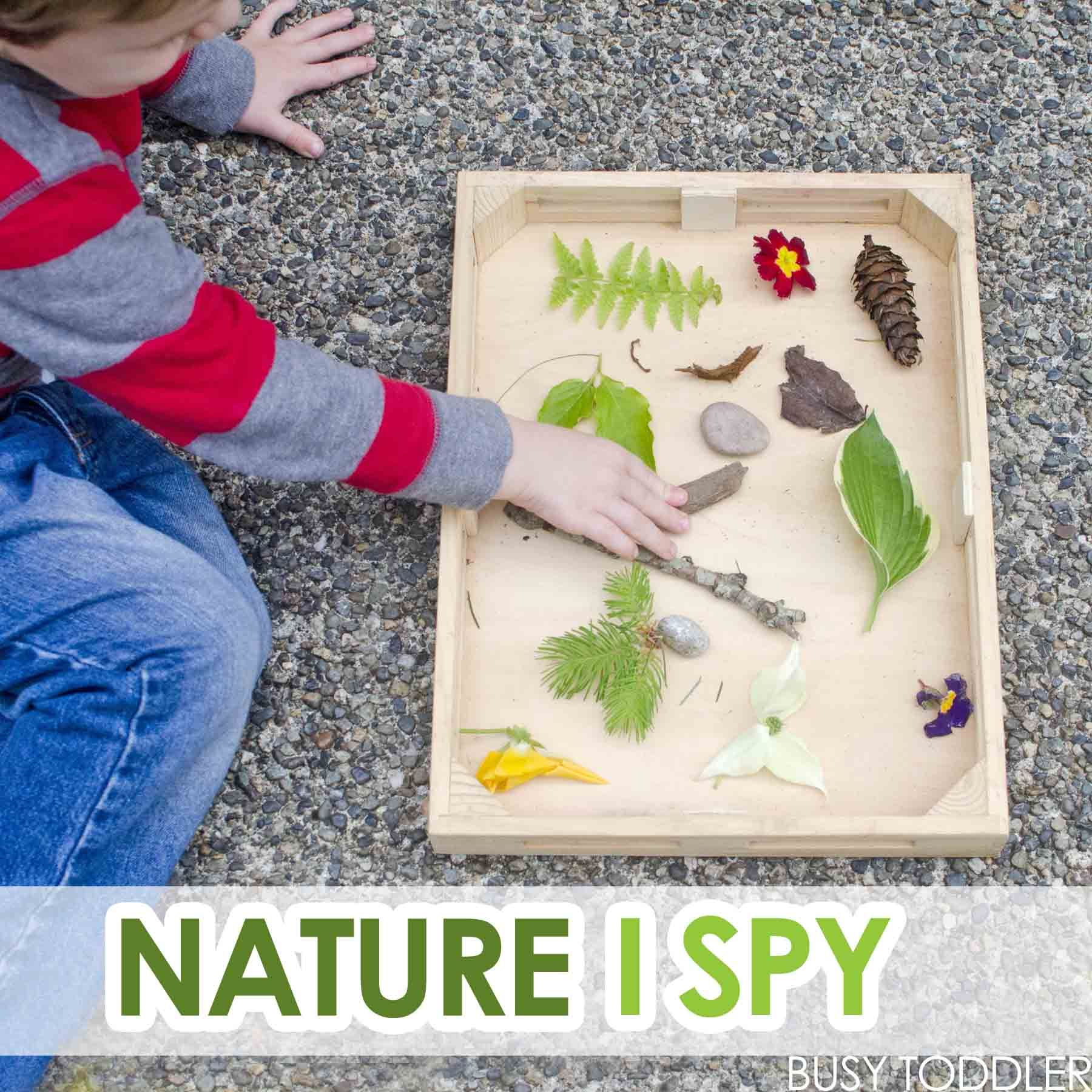Nature I-Spy with Toddlers | Outdoor learning, Learning activities ...