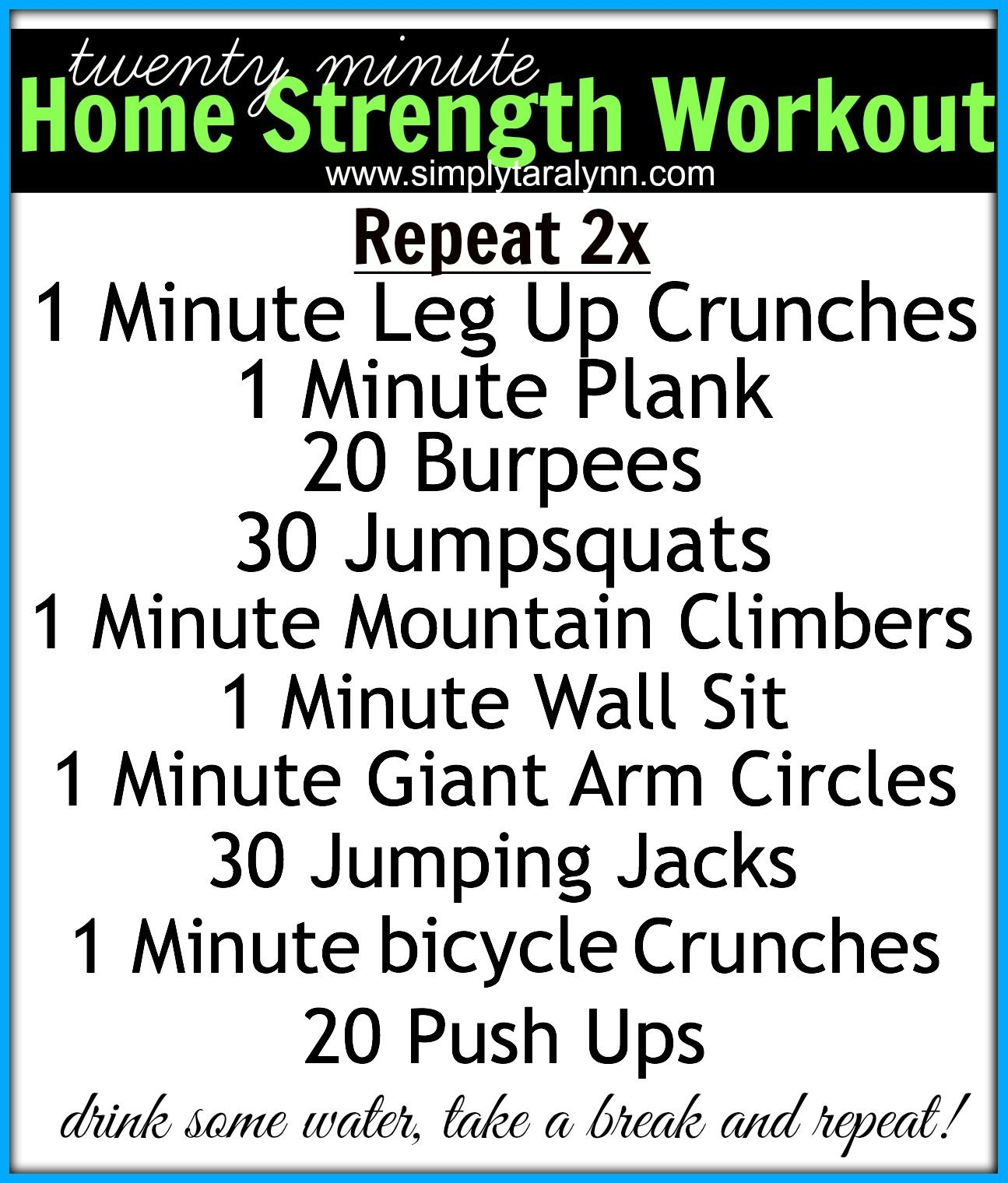 20 Minute At Home Cardio Workout Friday 39s Treadmill And Strength Training Workout 43 Post Fuel
