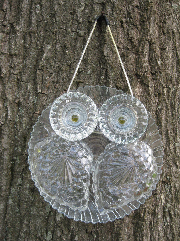 Glass Owl Suncatchers by Unflygettable on Etsy https://www ... - photo#2