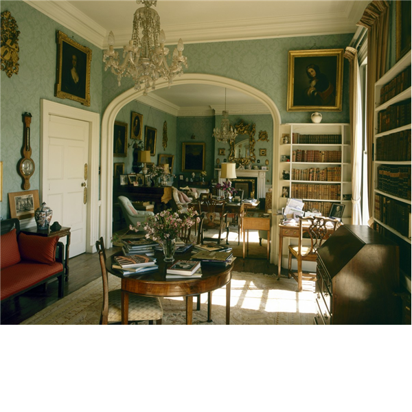 the double drawing room at hamwood house in ireland | style
