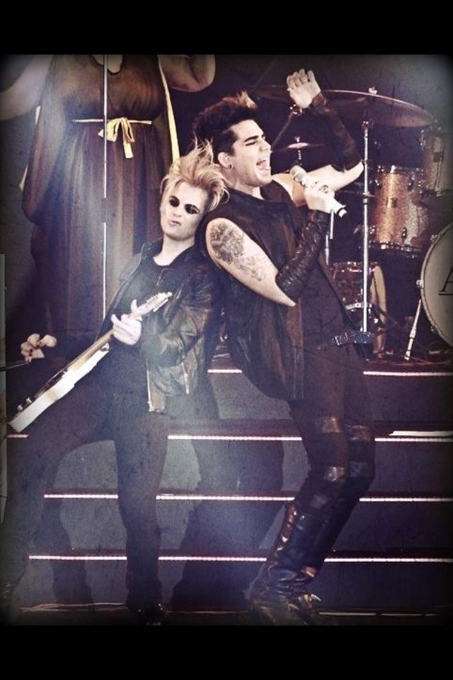 Feel The Music Adam Lambert And Tommy Joe Ratliff