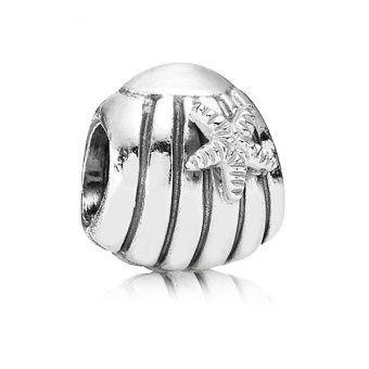 Charm argent coquillage Pandora 790972 - Lookeor | Coquillage ...