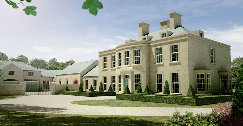 Stone Clad Country House Architectural Images House