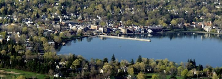 Skaneateles From Above Lake