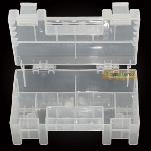 #Large transparent hard #plastic battery holder #storage case for aa  aaa tools b,  View more on the LINK: http://www.zeppy.io/product/gb/2/261546817278/