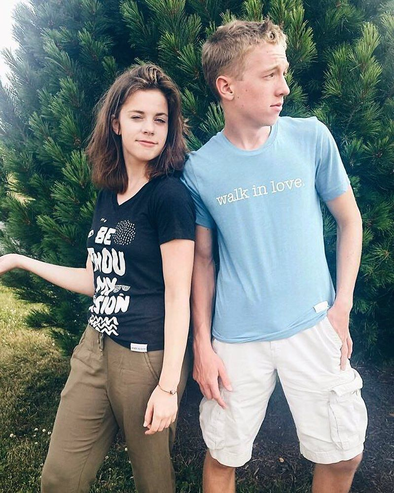 """""""My brother is obviously the better model here."""" -Repost from  @pageolsen #iwearwalkinlove"""