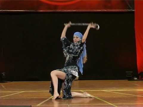 Bellydance Style Saidi Egyptian Cane Dance