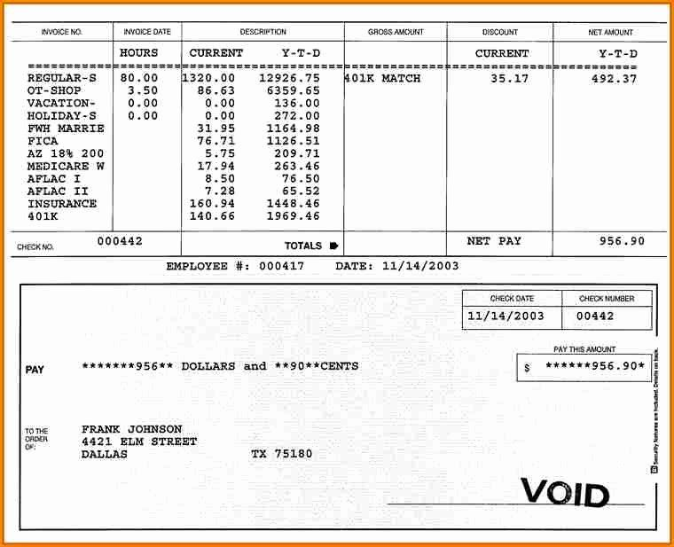 Independent Contractor Pay Stub Template Elegant 10 Fillable Pay Stub Template Templates Free Download Templates Powerpoint Timeline Template Free