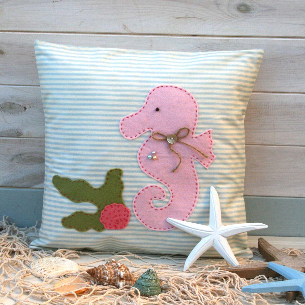 Sandy Seahorse – Cushion Sewing Kit