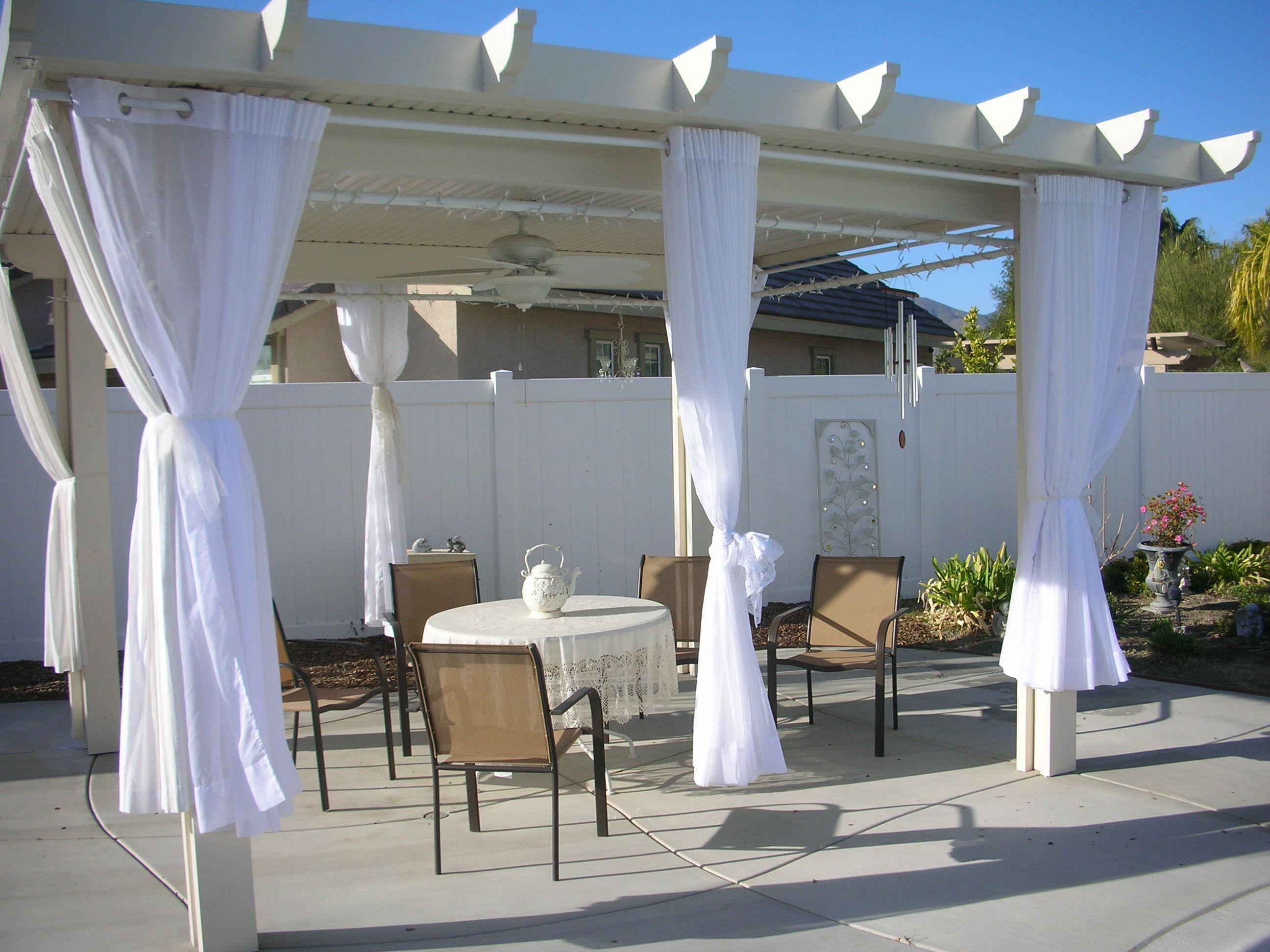 Curtains For The Lanai Columns Florida Lanai Ideas