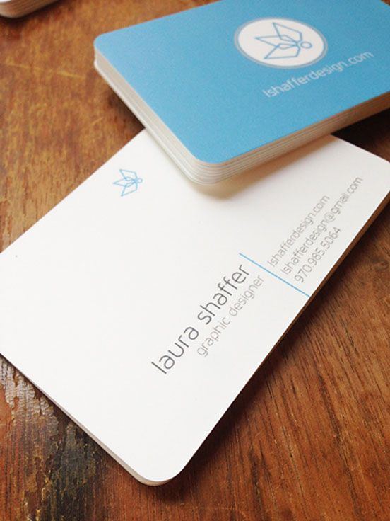 Personal Business Cards The Design Inspiration