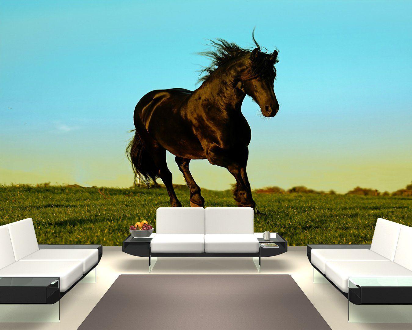 Fancy Bilderdepot selbstklebende Fototapete Pferd x cm direkt vom Hersteller Amazon de