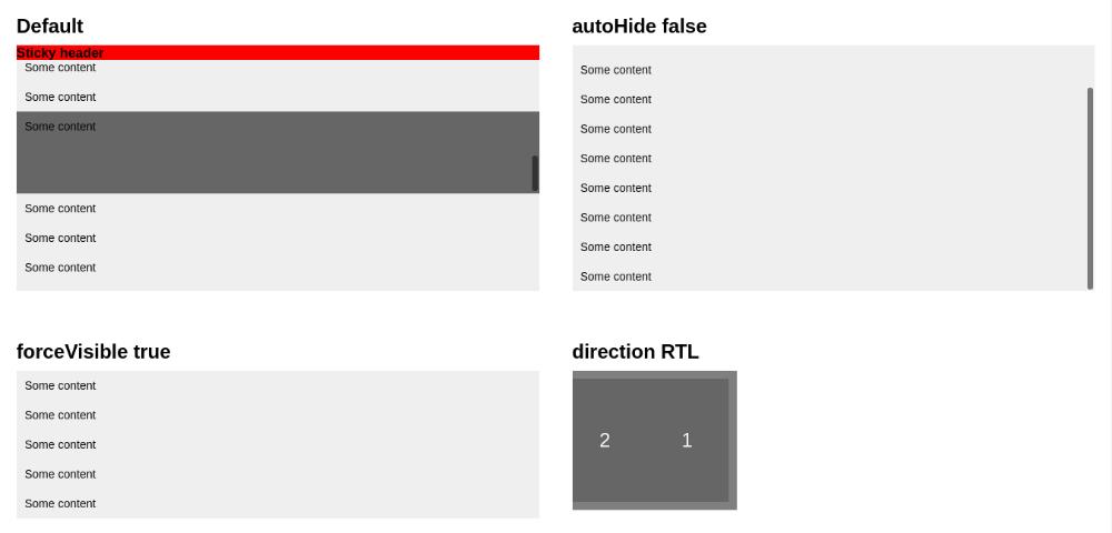 React Custom Scrollbar Components Onaircode Css Scrollbar Browser Support Custom