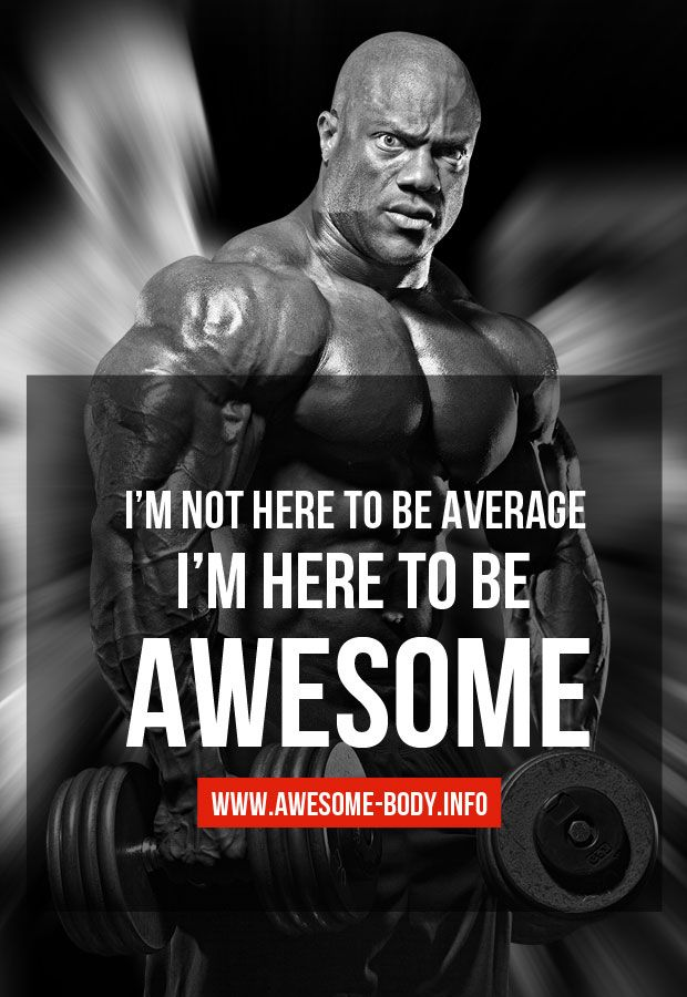 Awesome phil heath bodybuilding quotes https