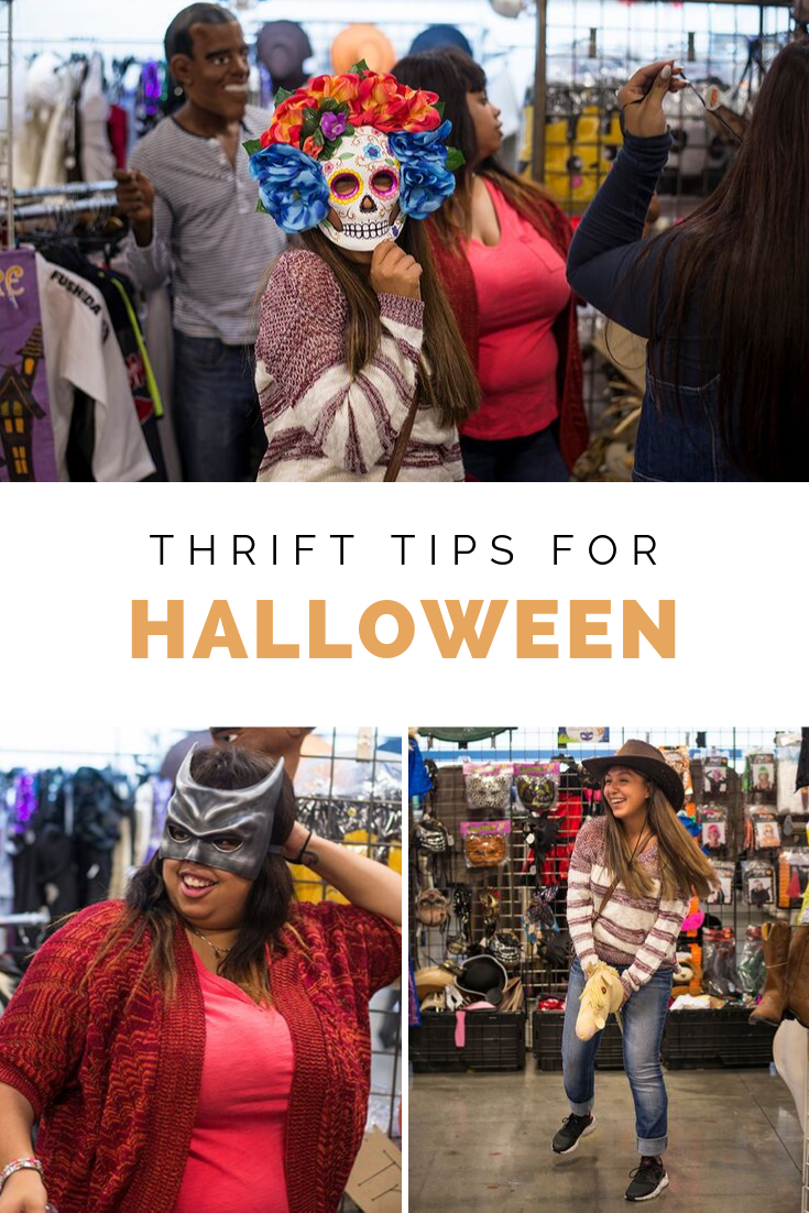 Helpful thrift tips for searching the racks of your