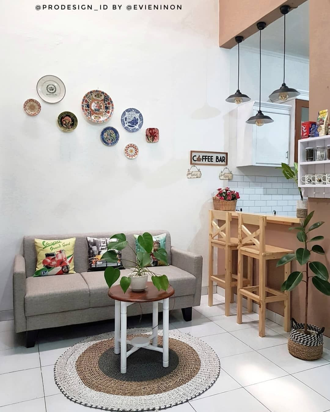 Ruang Tamu Ala Cafe