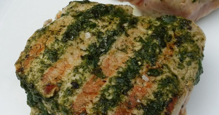 Photo of Veal steaks with fresh basil | Audrey Cuisine