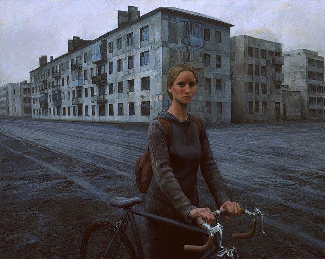 2009 Aron Wiesenfeld Girl with Bike