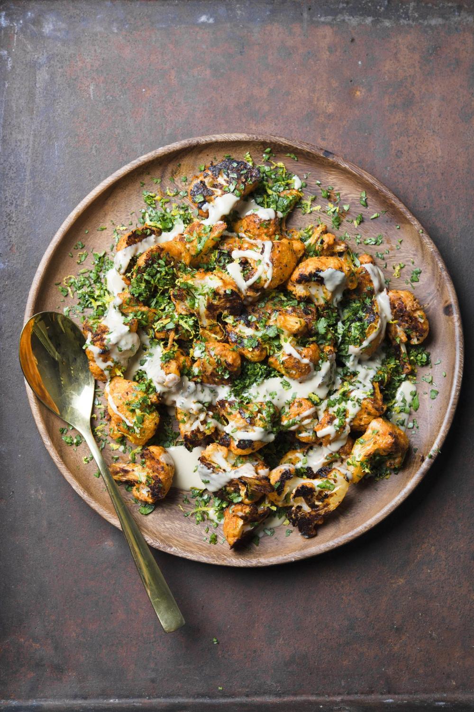 Roasted Cauliflower with Tahini and Lemon | Christopher Kimball's Milk Street