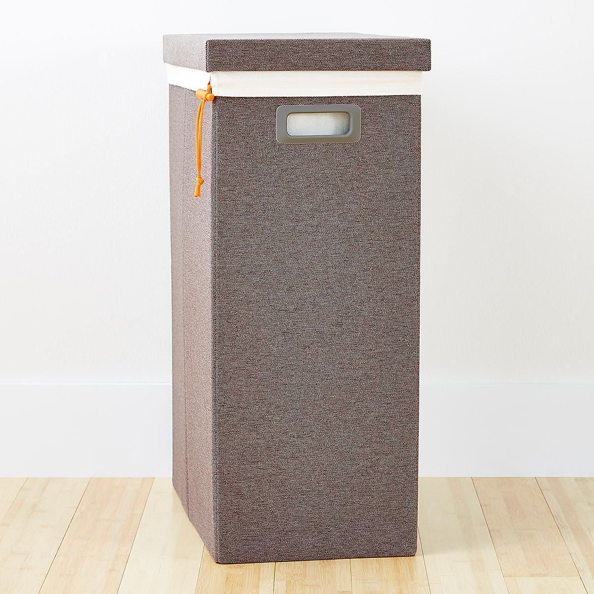 Heather Brown Poppin Laundry Hamper With Lid In 2020 Laundry