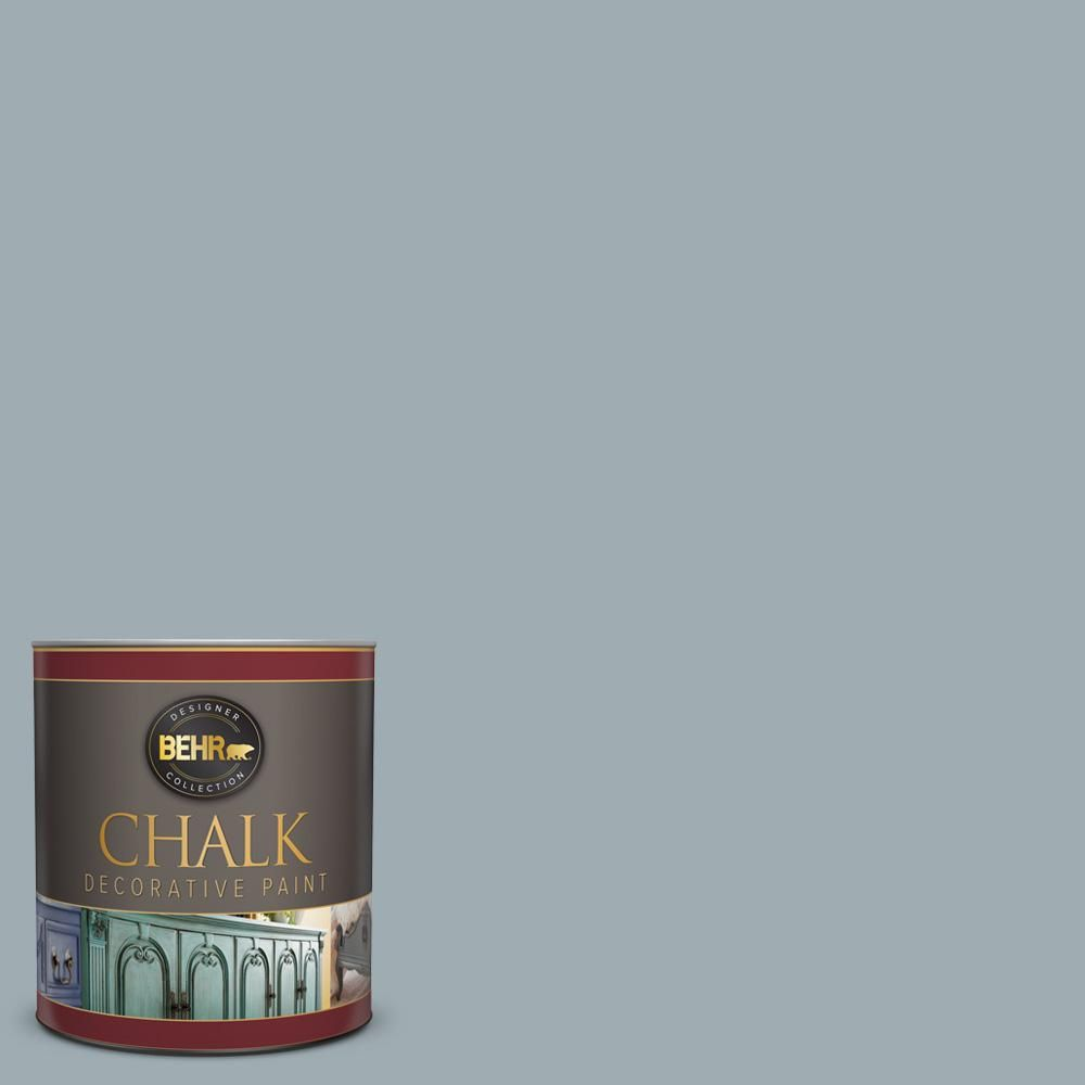 Behr 1 Qt Bcp35 Gingham Interior Chalk Finish Paint Behr Chalk Paint Prices