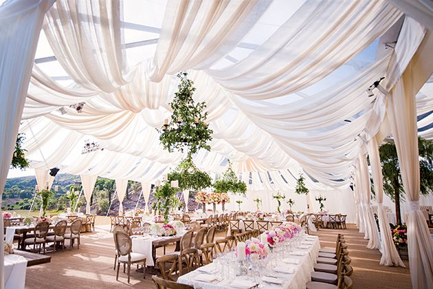 The 10 Things You Must Do If You Re Having A Tent Wedding