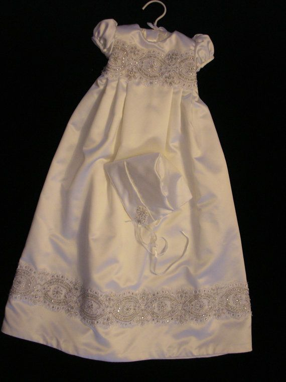 Amelia\'s Custom Christening or Baptism Gown made by BertasBoutique ...