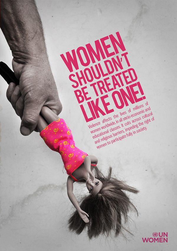 Designers Take On Modern Women Social Awareness Posters