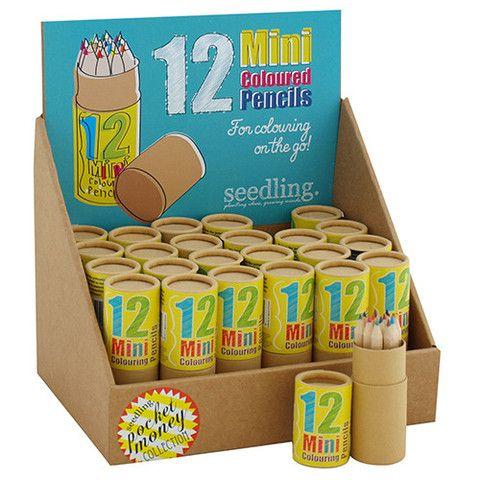 Mini 12 Colored Pencils – Seedling