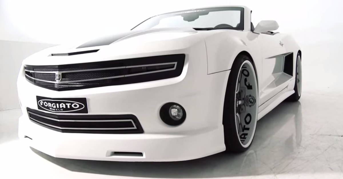 CHEVY CAMARO SS CONVERTIBLE WIDE BODY CUSTOM BY \