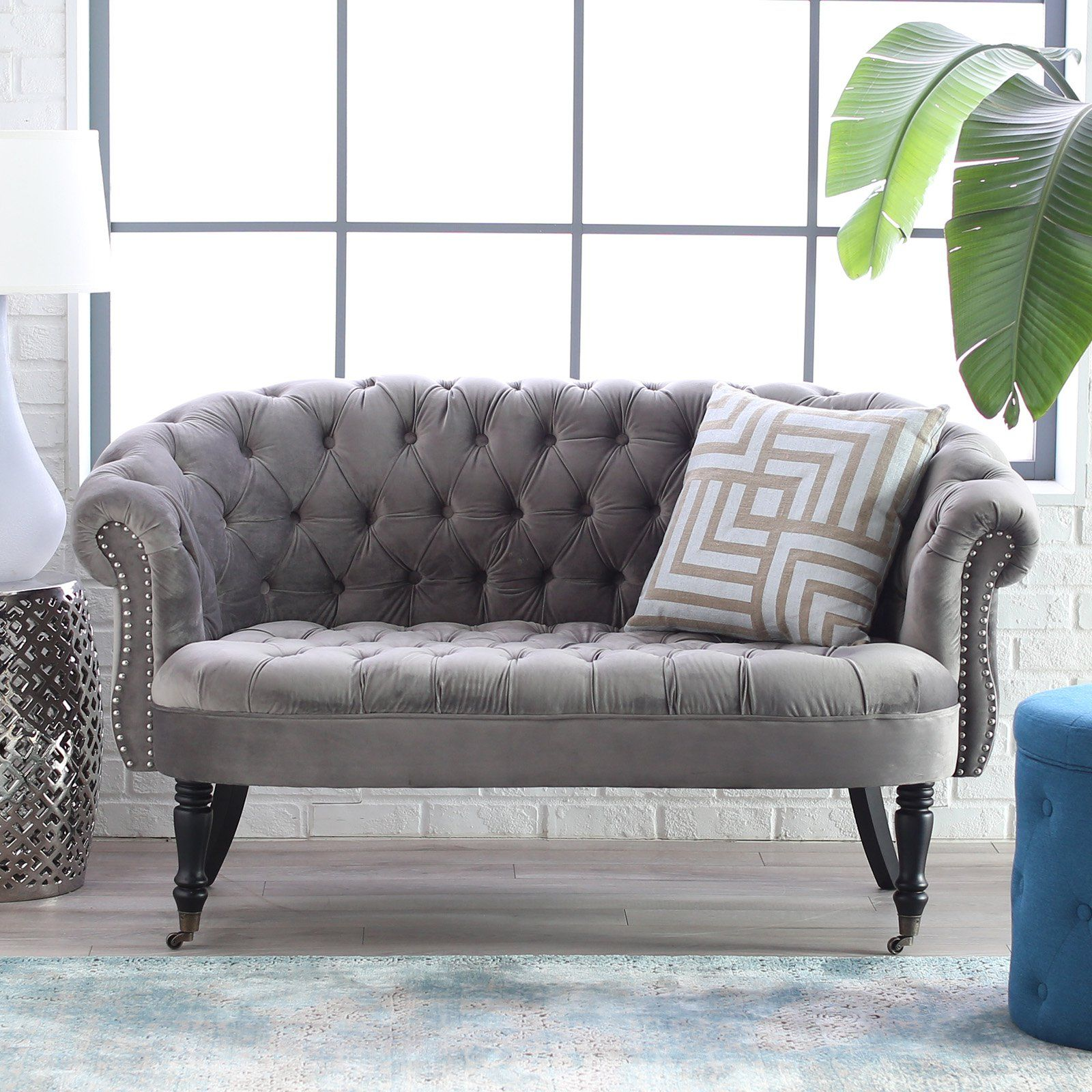 Belham Living Margo Tufted Mini Sofa