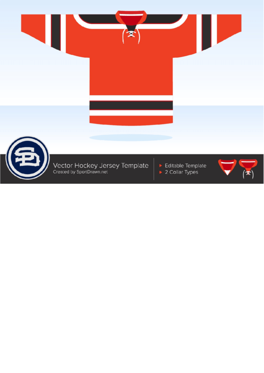 Vector Hockey Jersey Template Printable Pdf Hockey Jersey Hockey Jersey