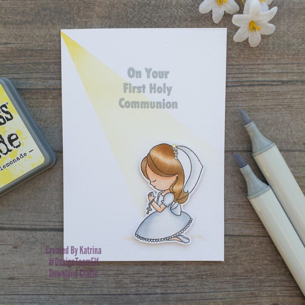 First holy communion card first holy communion holy