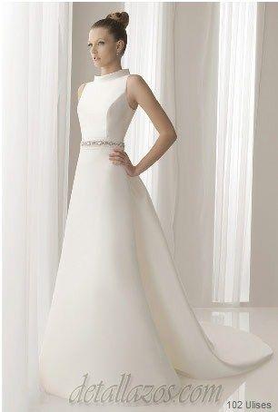 vestidos de novia sencillos | novias