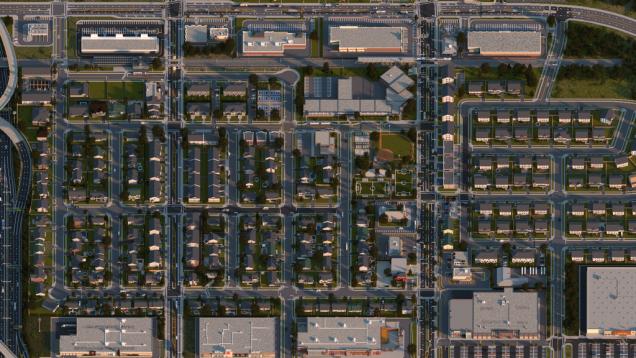 Realistic Minecraft Neighborhood Looks Straight out of