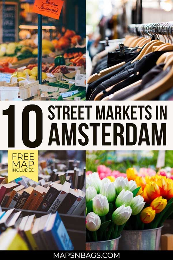 10 Best Street Markets of Amsterdam