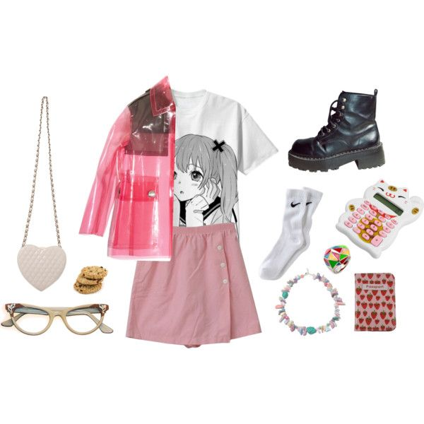 """highschool girls are funky"" by pallo on Polyvore"
